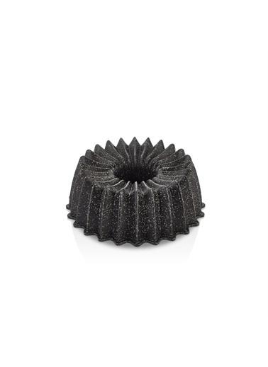 Bernardo Regina Döküm Granit Siyah Kek Kalıbı Siyah